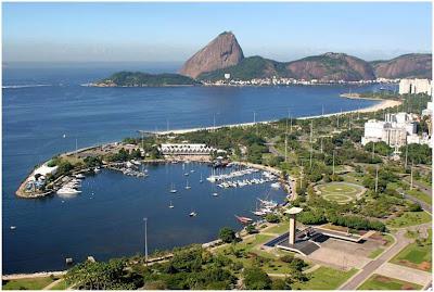 Cartões Postais do Rio de Janeiro - Marina da Glória