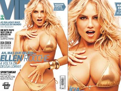Revista Vip - Fevereiro - 2011 - Ellen Roche