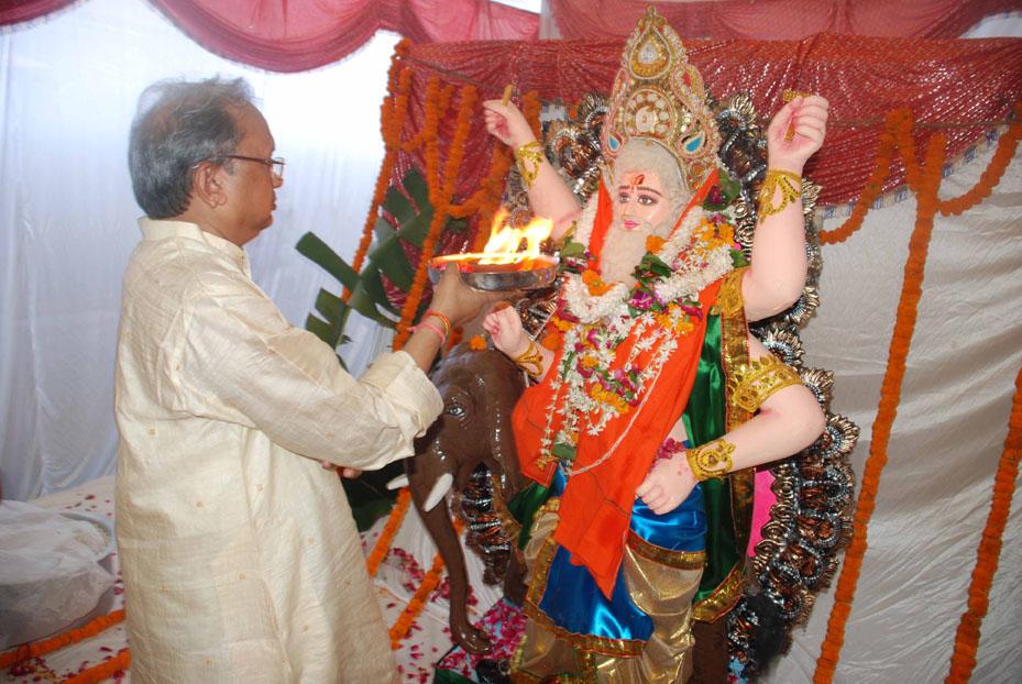 Vishwakarma Puja in 2010 Vishwakarma Puja Celebrated in Bhu