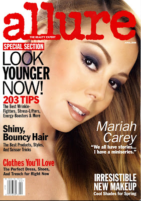 Mariah Carey Allure Magazine 2008