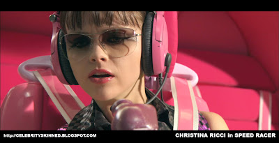 Christina Ricci is Trixie in Speed Racer