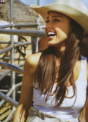 Jessica Alba InStyle UK