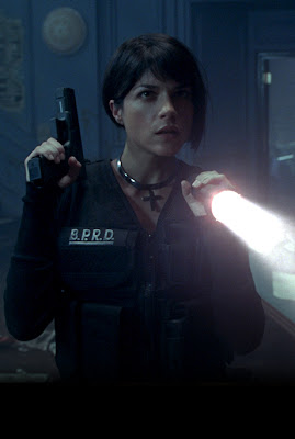 Selma Blair in Hellboy 2