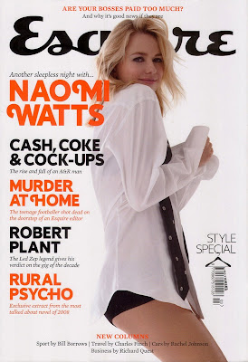 Naomi Watts Pictures from UK Esquire Magazine