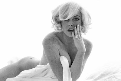 Lindsay Lohan's Marilyn Monroe NY Mag Outtakes