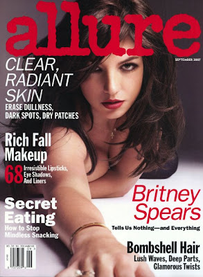Britney Spears Allure Cover 2007