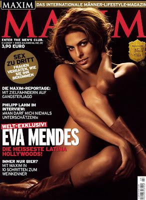 Eva Mendes Maxim Pictures