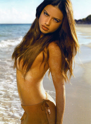 Adriana Lima Pictures from GQ Magazine