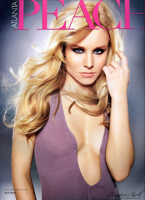 Kristen Bell Pictures from Atlanta Peach Magazine