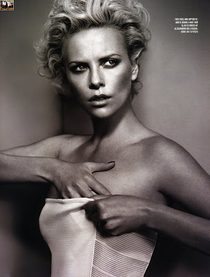 Charlize Theron Undresses for GQ Magazine