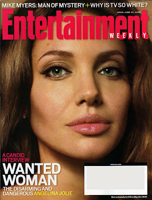 Angelina Jolie Entertainment Weekly Cover
