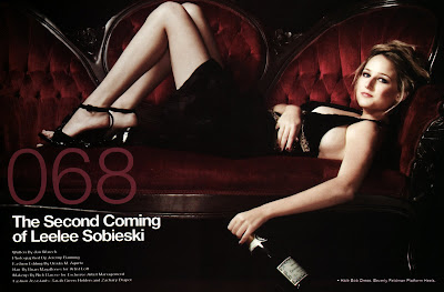 Leelee Sobieski in Six Degrees Magazine