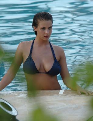 Gemma Atkinson Candid Bikini Shots
