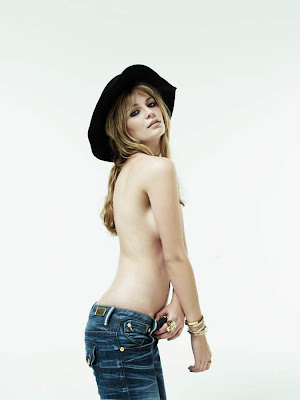 Mischa Barton Exposed in Nylon Magazine