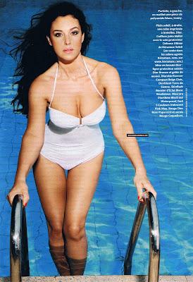 Monica Bellucci in Madame Figaro Magazine