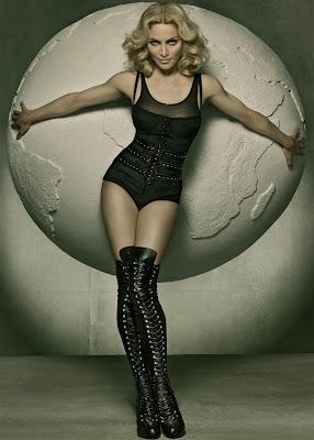Madonna shot by Steven Meisel