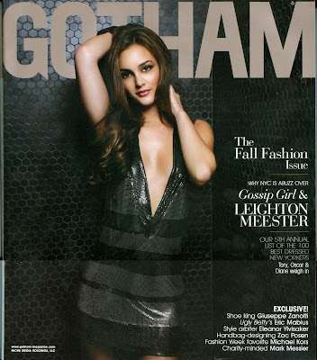 Leighton Meester Pictures from Gotham Magazine
