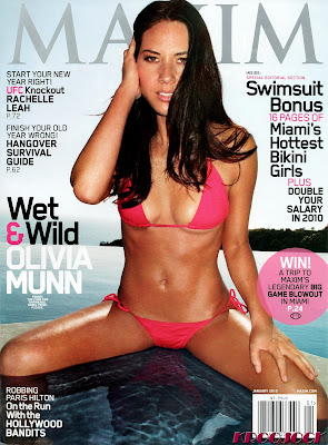 Olivia Munn Maxim Cover