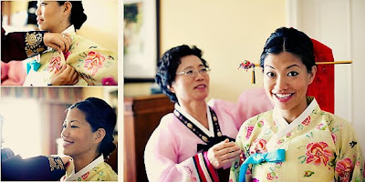 Sarah And Raj Wedding Commission Korean Indian Ceremony