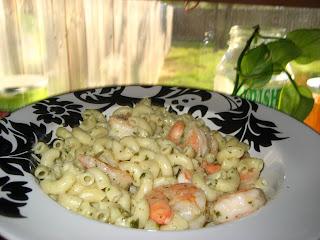 creamy buitoni pesto shrimp pasta
