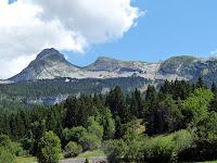 コロンソン=アン=ヴェルコールCorrençon-en-Vercorsの山