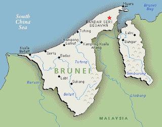Brunei Darussalam map