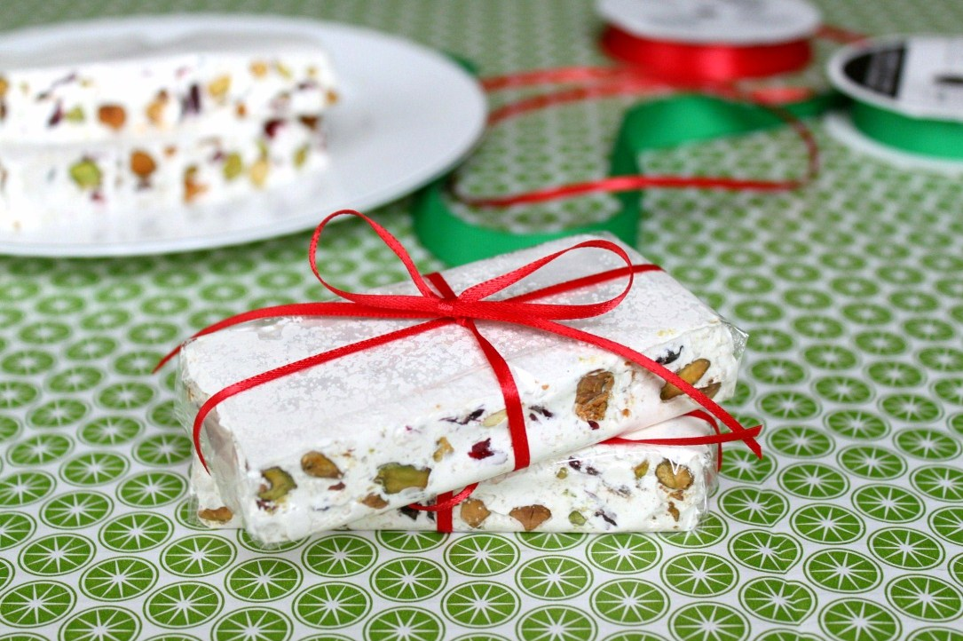 Cranberry-Pistachio Torrone | Shauna Sever | The Next Door Baker