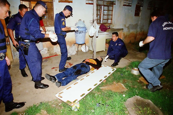 GM socorre 04 baleados na zona sul (2000)