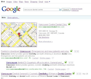google business map