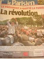チュニジア革命前夜に、仏アイオマリ外相はチュニジア警察に支援の提言