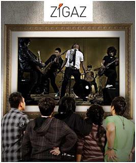 Lirik Chord ZIGAZ Hidupmu Hidupku, wallpaper foto Zigaz