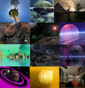 Research: Spaceplanets: realistic images. Posted by Baiba Sofija Engele at .