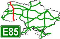 European Route Road E-85 - Европейский автомобильный маршрут Е85