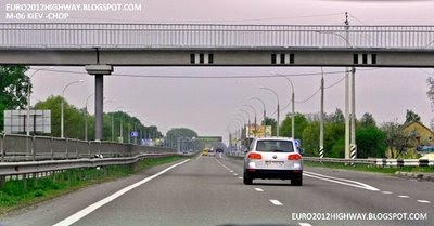 Автодорога М-06 Киев-Чоп 38 километр, надземный пешеходный переход