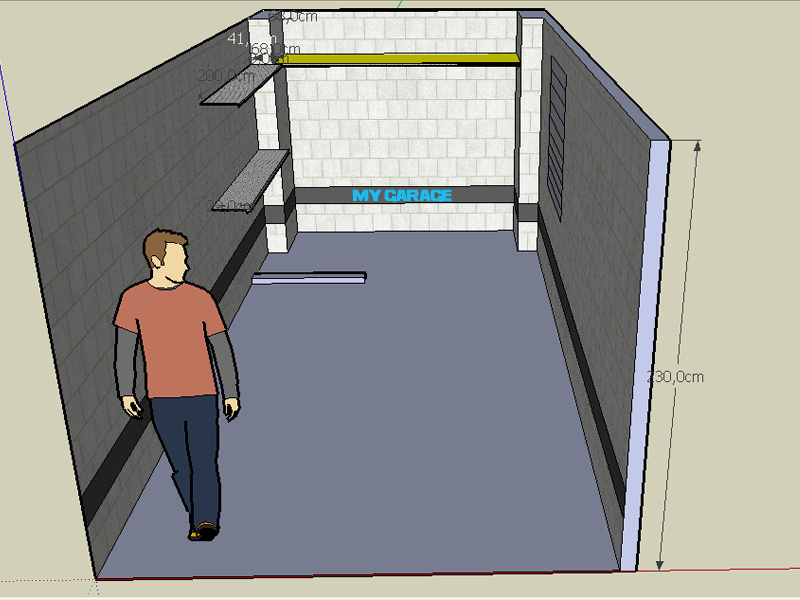 Mygarage allestimento box e garage su misura prodotti for Quanto costa costruire un garage per 3 auto
