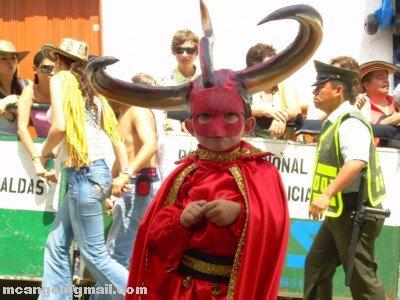 IMAGENES DEL CARNAVAL DE RIOSUCIO, COLOMBIA