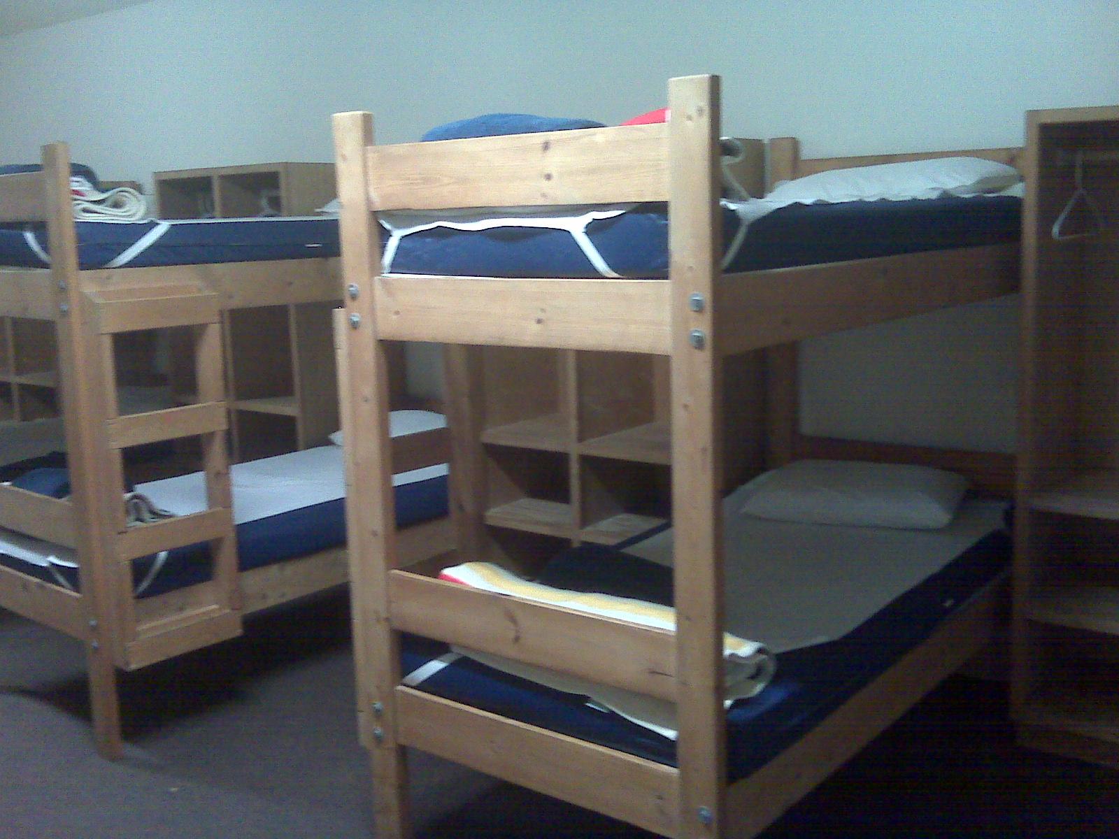 Popular Slept on bottom bunk