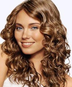 Brown Hair Perm