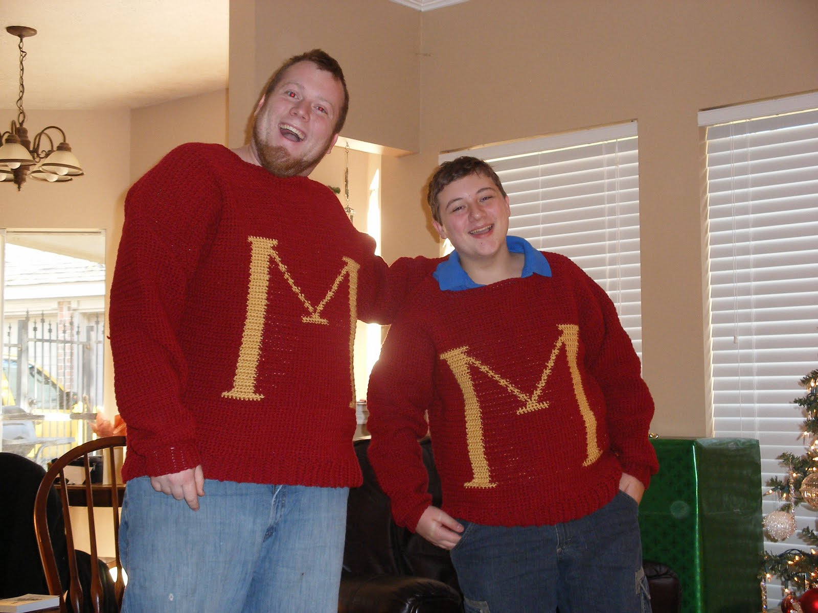 Rediscovering Heirlooms: Harry Potter Sweater and Pattern