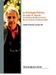La Ontología Política de John R. Searle