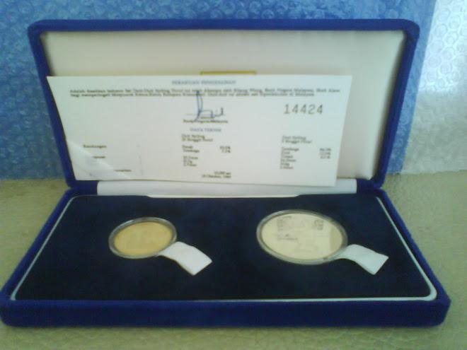 1989 COINS PROOF CHOGEM