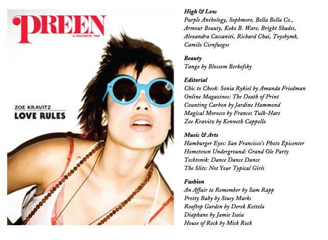Preen magazine