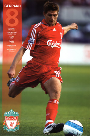 Steven Gerrard Bio And Images