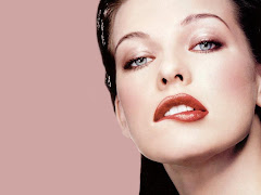 Milla Jovovich Model Wallpaper