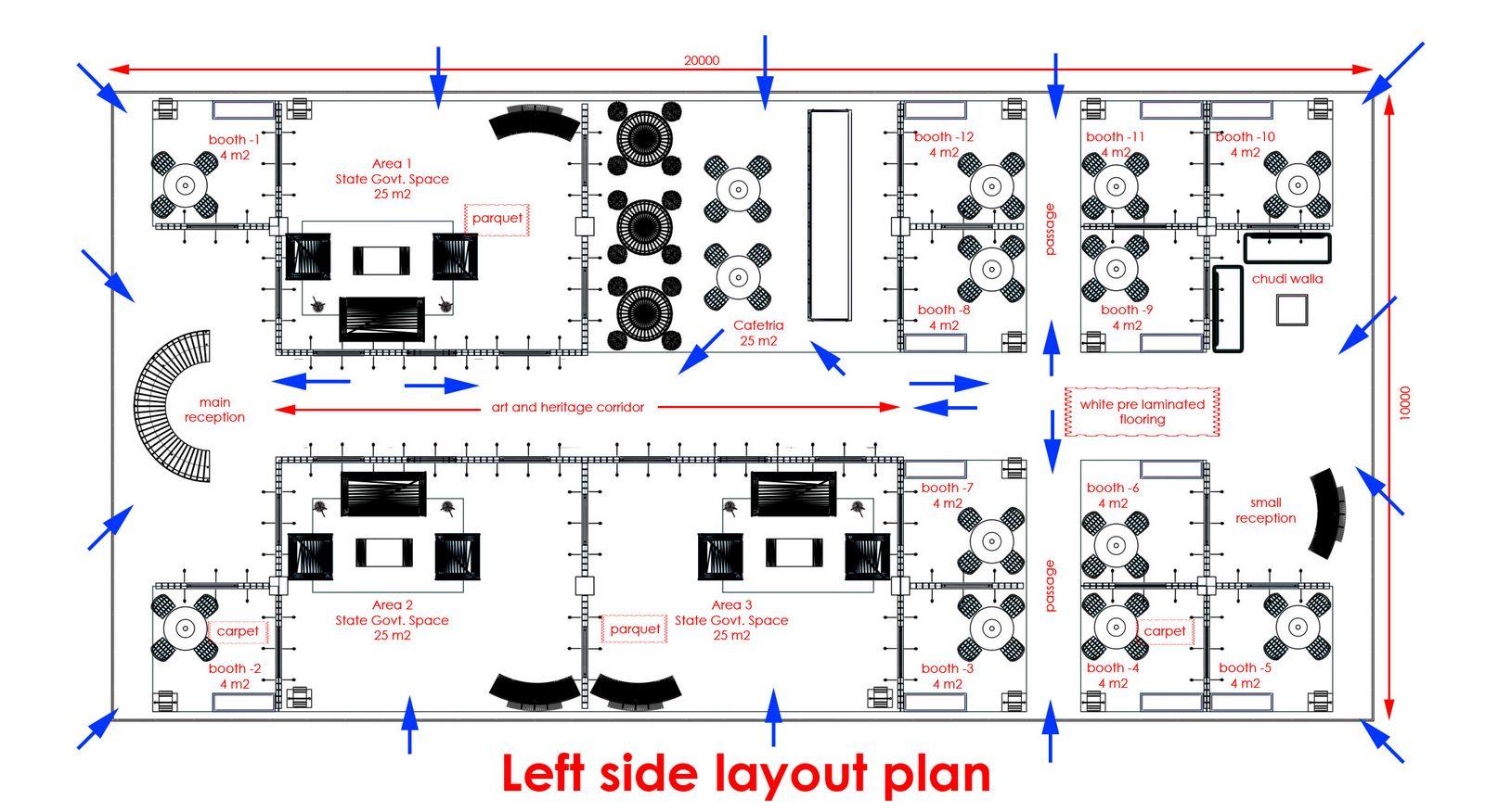 Exhibition Stand Plan : Gurooji design india pavillion exhibition stand atm