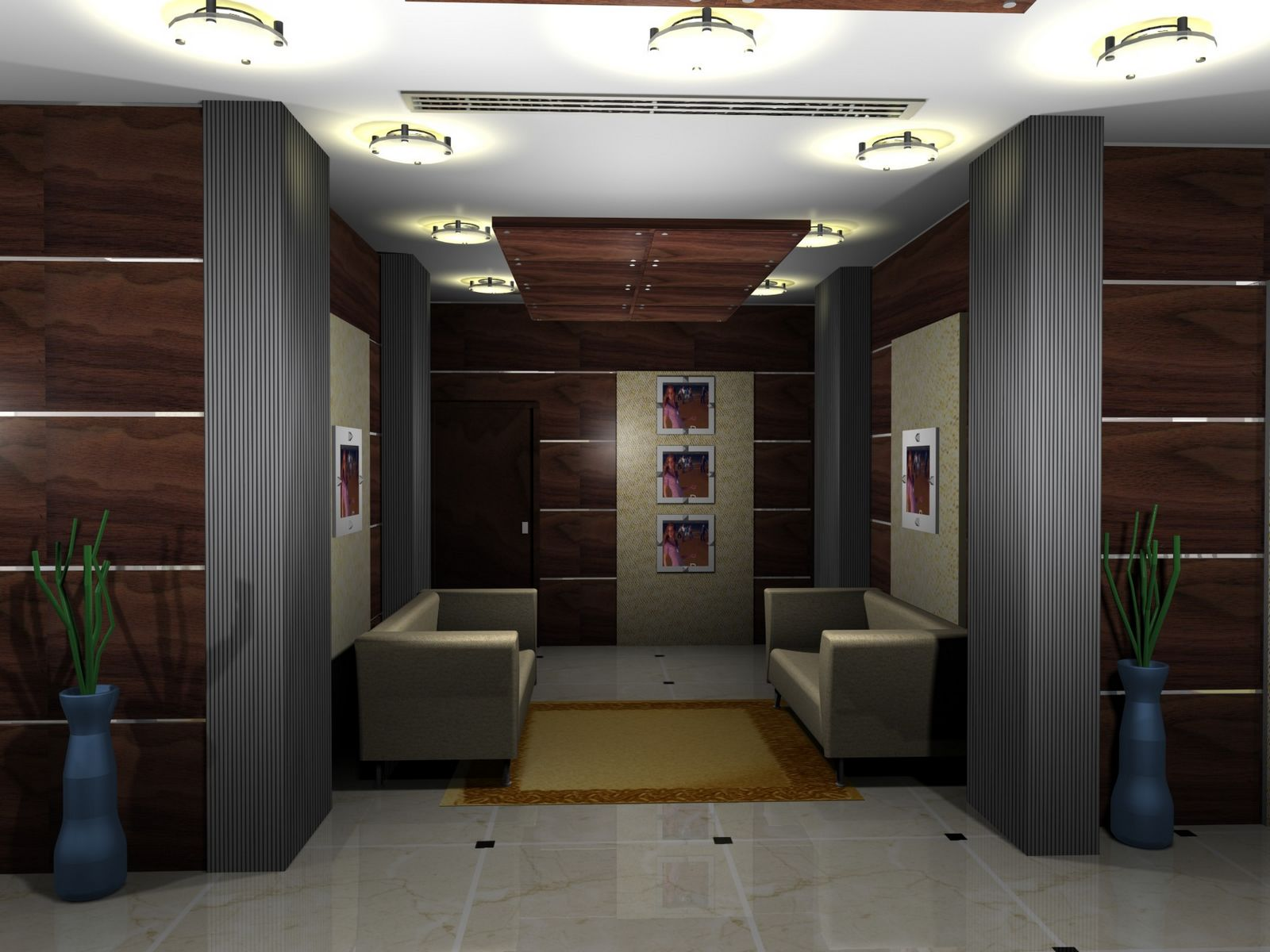 Gurooji design mont royal hotel lobby design for Design hotel lizum 1600