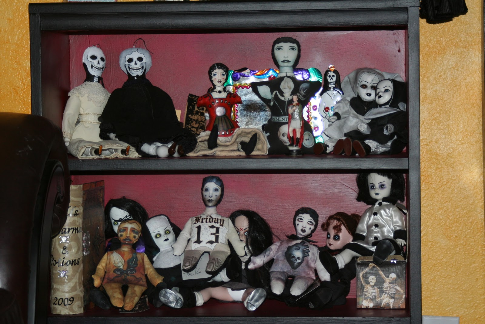 Smaller dolls from madame talbot october effigies creepy dolls and a