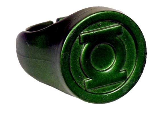 how to make a green lantern power ring