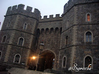 Windsor castle from outside