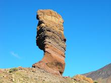 Árbol de piedra. Cañadas del Teide